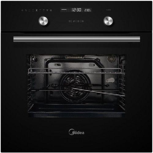 Электрический духовой шкаф Midea MO78100CGB чёрный фото