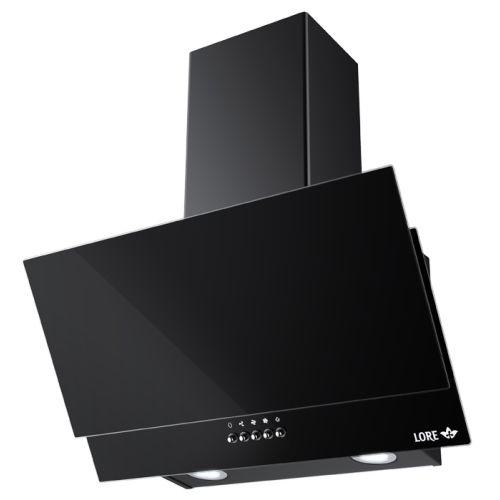 Вытяжка Lore EGL 600 BK черное стекло фото