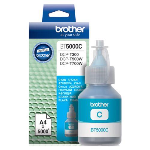 Чернила для струйного принтера Brother BT5000C голубой голубого цвета