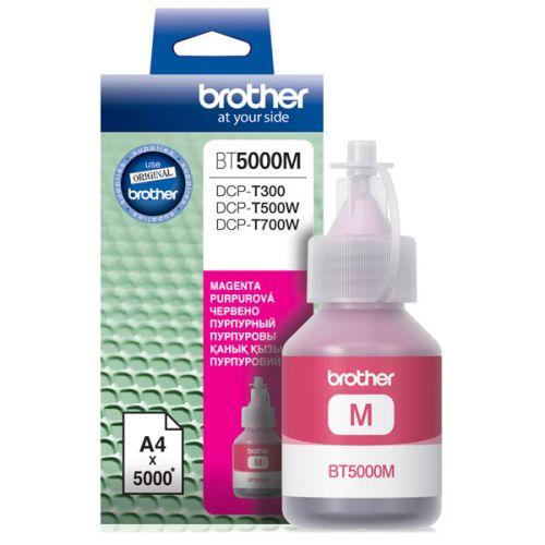 Чернила для струйного принтера Brother BT5000M пурпурный цвет пурпурный
