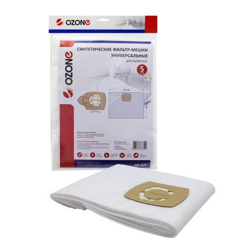 Мешок-пылесборник Ozone 36L-G/5 фото