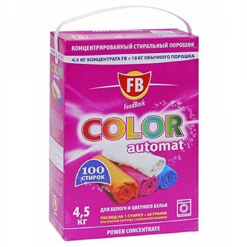 Стиральный порошок Feed Back Color 4.5 кг