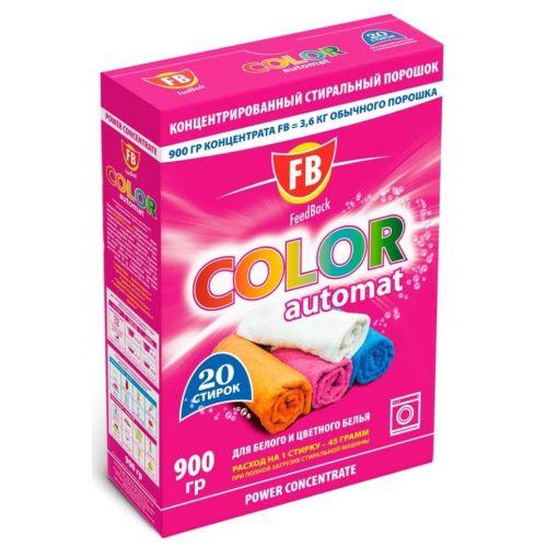 Стиральный порошок Feed Back Color 20 стирок 0.9 кг