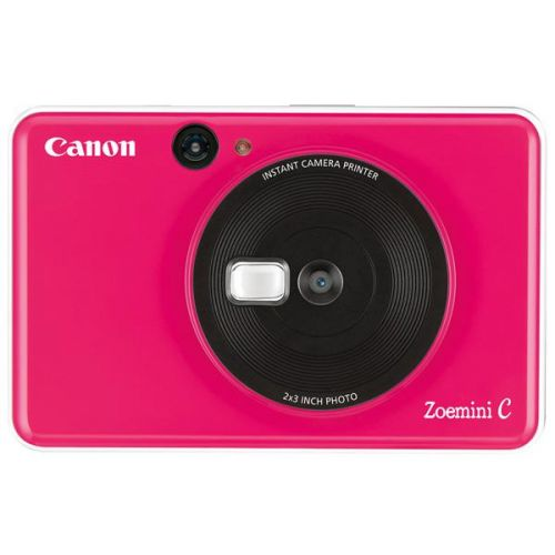Фотокамера моментальной печати Canon Zoemini C розовый розового цвета