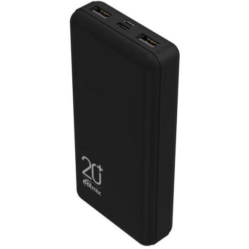 Портативный внешний аккумулятор Ritmix RPB-20000 Black чёрный