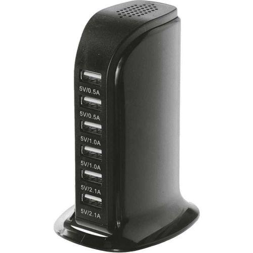 Сетевое зарядное устройство Red Line NT-7 Tech 6 USB черный фото