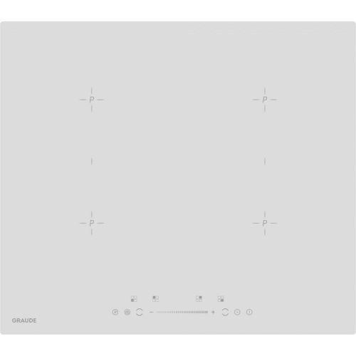 Встраиваемая электрическая панель GRAUDE IK 60.2 BW белый фото