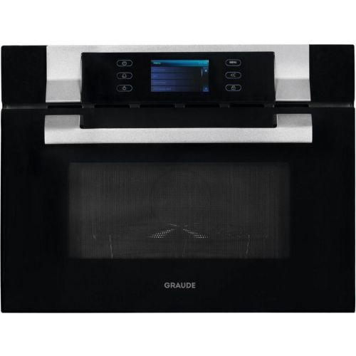Встраиваемая микроволновая печь GRAUDE MWG 45.0 SG чёрный/белый фото
