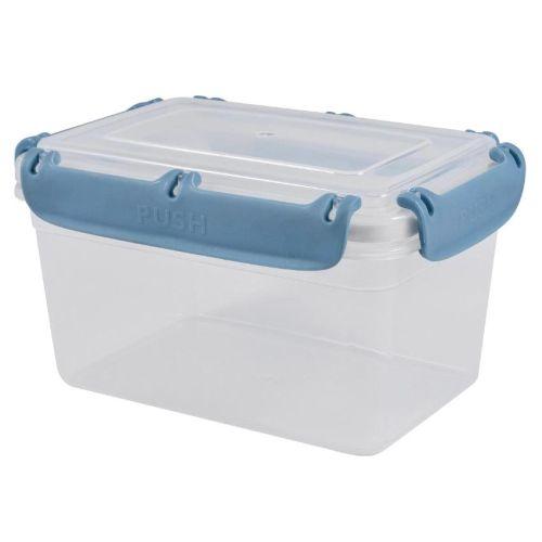 Контейнер пищевой ПластТим BERGEN 2,4 л. (PT1046ТГ-16) голубой фото
