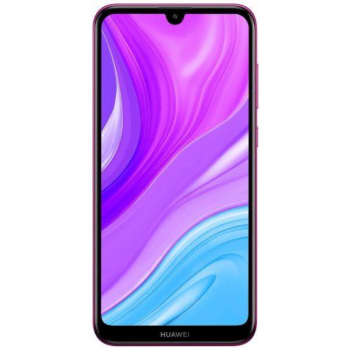 Смартфон Huawei Y7 2019 64Gb purple фиолетового цвета
