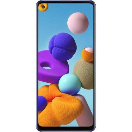 Смартфон Samsung Galaxy A21s blue фото