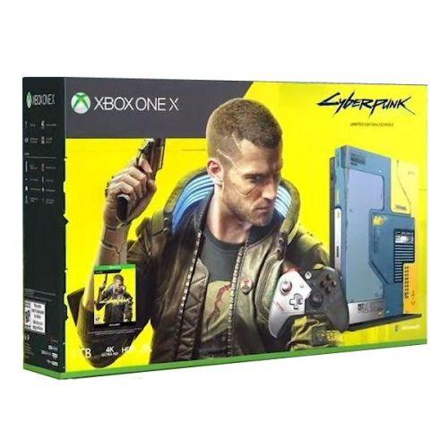 Игровая консоль Microsoft Xbox One X 1TB + Cyberpunk 2077