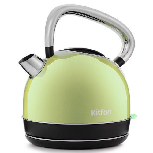 Электрический чайник Kitfort КТ-696 салатовый