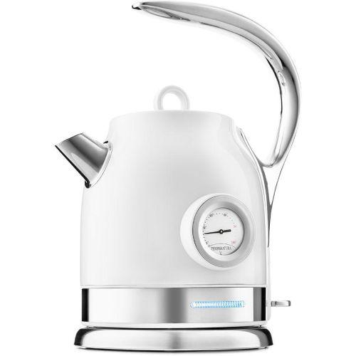 Электрический чайник Kitfort КТ-694-1 белый белого цвета