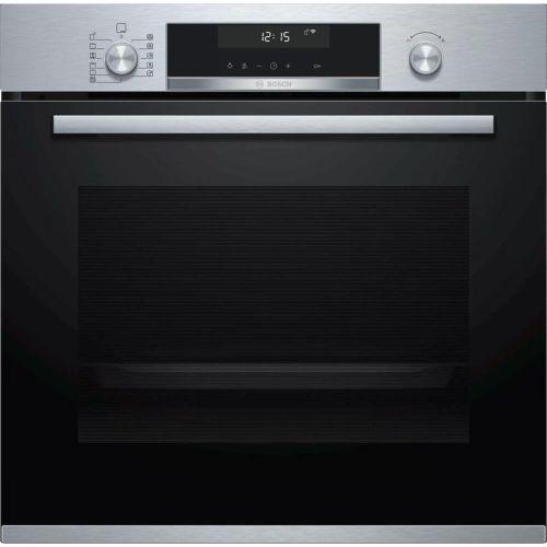 Электрический духовой шкаф Bosch HBG538ES6R нержавеющая сталь/черный цвет нержавеющая сталь/черный