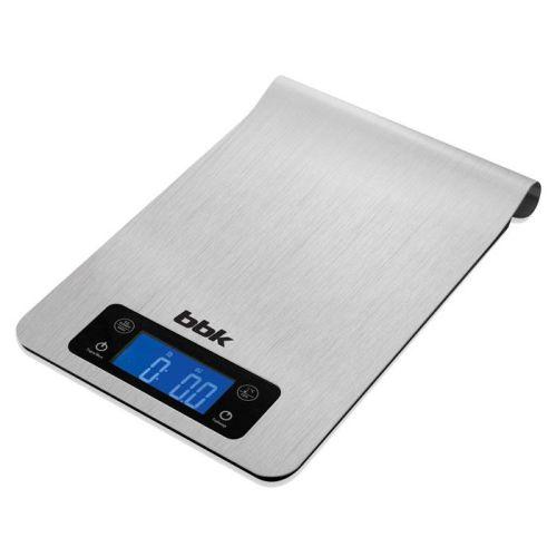 Весы кухонные BBK KS150M серебристый серебристого цвета