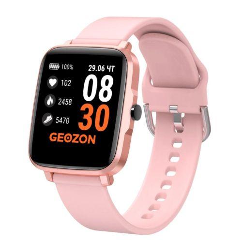 Смарт часы Geozon STAYER (G-SM13PNK) розовый розового цвета