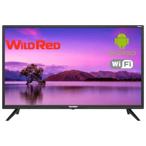 Телевизор Telefunken TF-LED32S72T2S чёрный черного цвета