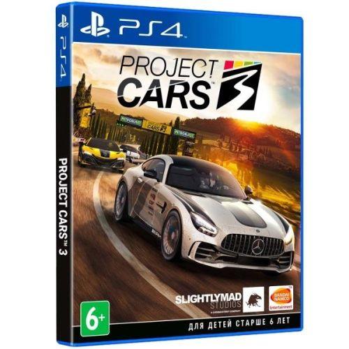 Игра для Sony PS4 Project CARS 3, русские субтитры