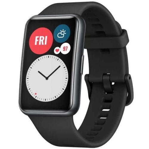 Смарт часы Huawei Watch Fit black черного цвета