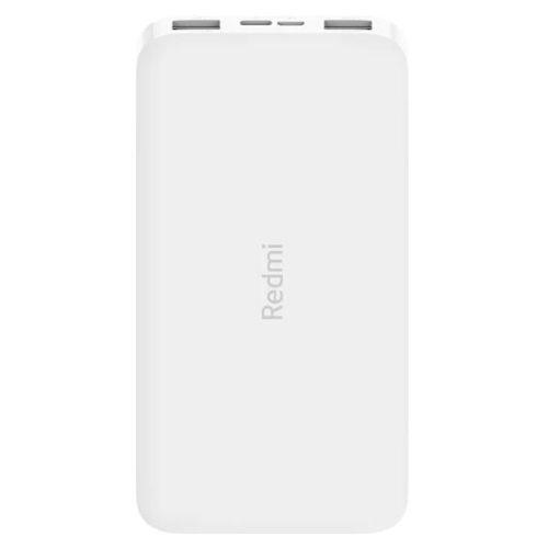 Внешний аккумулятор (Power bank) Xiaomi Redmi Power Bank 10000 (X24984) белый белого цвета