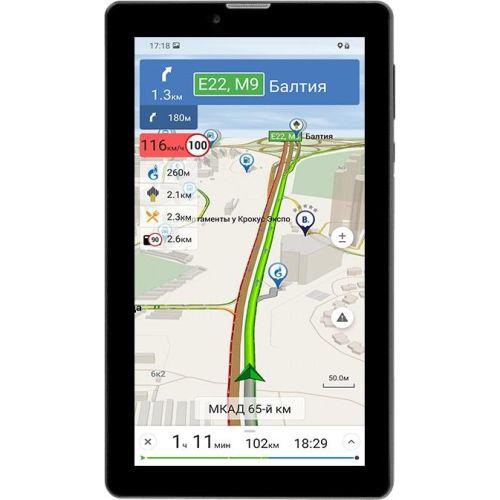 GPS-навигатор Navitel T737 PRO чёрный черного цвета