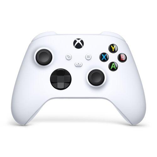 Геймпад для приставки Microsoft Xbox One (QAS-00002) белый белого цвета
