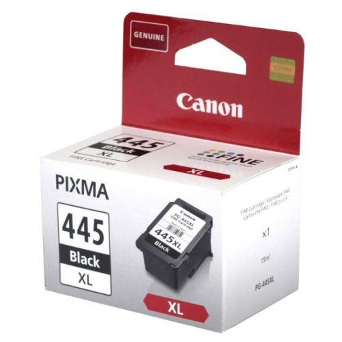Картридж для струйного принтера Canon PG-445XL чёрный черного цвета