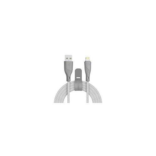 Кабель USB CROWN CMCU-3043L серый серого цвета