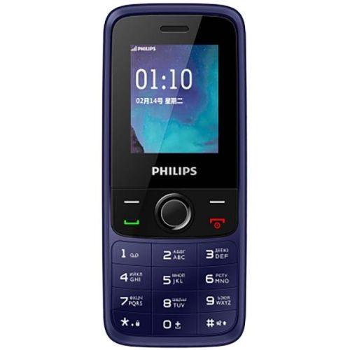 Мобильный телефон Philips Xenium E117 blue синего цвета