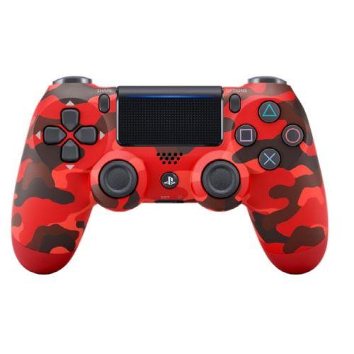 Геймпад Sony PS4 DualShock 4 v2 красный камуфляж цвет красный камуфляж