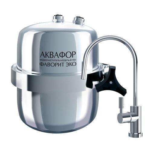 Фильтр для воды Аквафор B150 Фаворит ЭКО серебристый фото