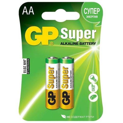 Батарейка GP Super Alkaline AA блистер 2 шт.