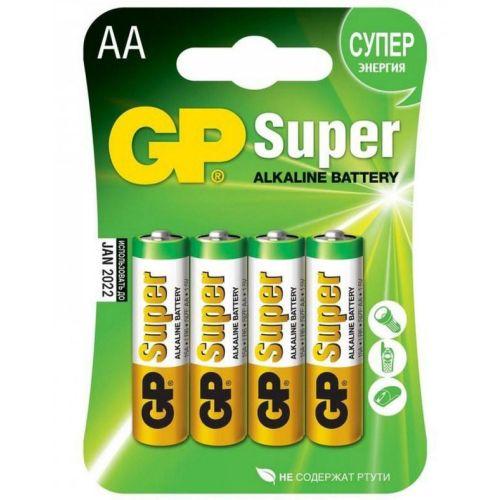 Батарейка GP Super Alkaline AA блистер 4 шт.