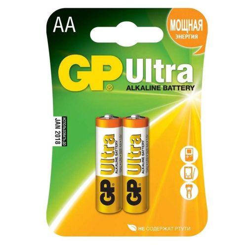 Батарейка GP 15A LR6 BL2 ULTRA