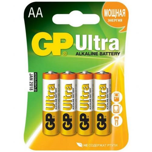 Батарейка GP 15A LR6 BL4 ULTRA