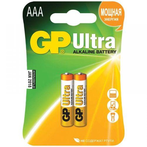 Батарейка GP 24A LR03 BL 2 ULTRA