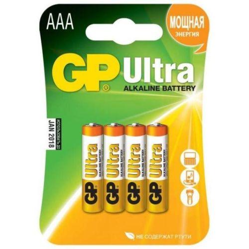 Батарейка GP 24A LR03 BL 4 ULTRA ААА