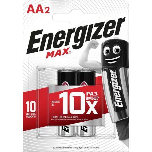 Батарейка Energizer Maximum LR6 E91 FSB2 AA