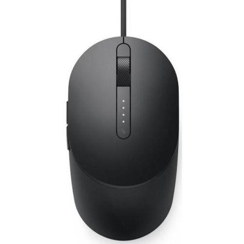 Мышь проводная Dell MS3220 чёрный