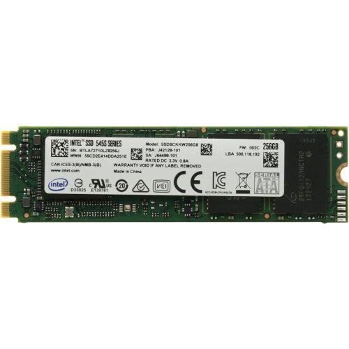 SSD накопитель Intel SSDSCKKW256G8X1