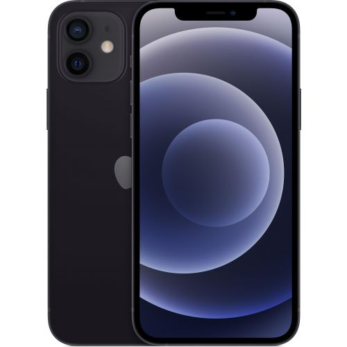 Смартфон Apple iPhone 12 256Gb black черного цвета