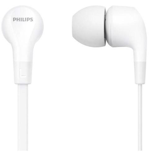 Проводные наушники Philips TAE1105 белый белого цвета