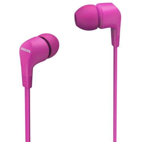 Проводные наушники Philips TAE1105 розовый розового цвета