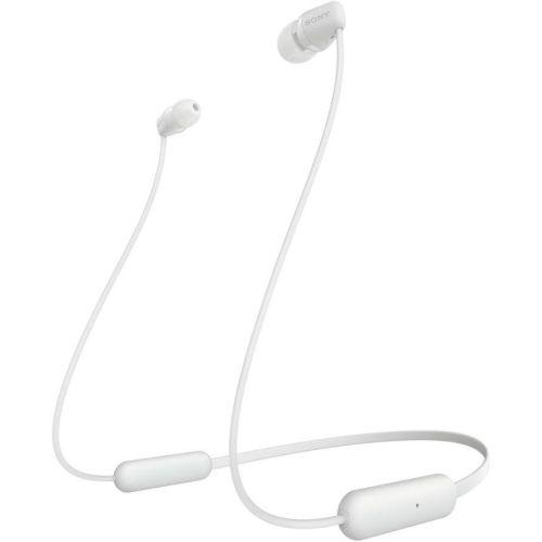 Беспроводные наушники Sony WI-C200 белый белого цвета