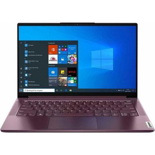 """Ноутбук Lenovo Yoga Slim7 14ITL05 (82A3004XRU) (Intel Core i7 1165G7 2800MHz/14""""/1920x1080/16GB/512GB SSD/DVD нет/Intel Iris Xe Graphics/Wi-Fi/Bluetooth/Windows 10 Home)"""