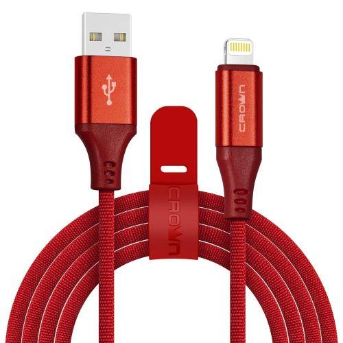 Кабель USB CROWN CMCU-3103L красный красного цвета