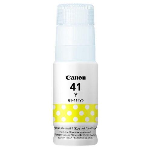 Картридж для струйного принтера Canon GI-41 Y жёлтый цвет жёлтый