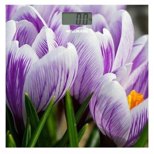 Весы напольные Willmark WBS-1811D крокусы