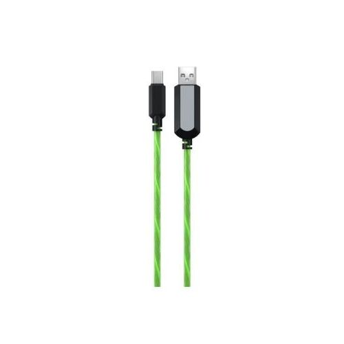 Кабель USB Red Line USB - micro USB (УТ000018307) зелёный цвет зелёный